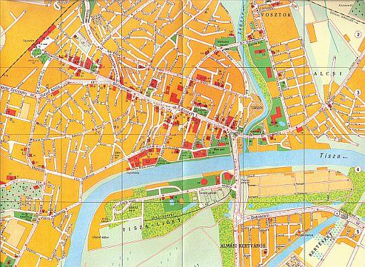 szolnok térkép Amiről a térkép mesél szolnok térkép